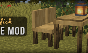 我的世界家具(MrCrayfish's Furniture)MOD 1.16.5/1.15.2
