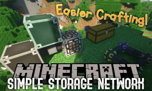 我的世界简单存储(Simple Storage Network)MOD下载