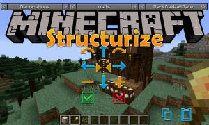 我的世界结构化(Structurize)MOD下载