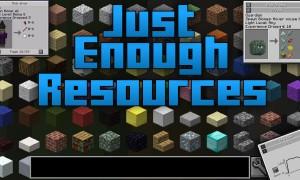我的世界JER(Just Enough Resources)MOD