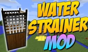 我的世界滤水器(Water Strainer)MOD