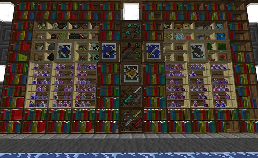 收藏馆BiblioCraft-Mod