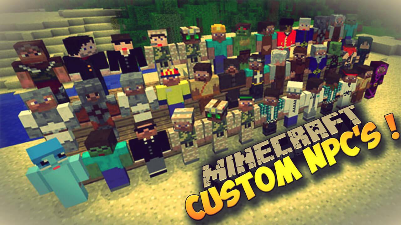 自定义NPC-Custom-NPCs-Mod
