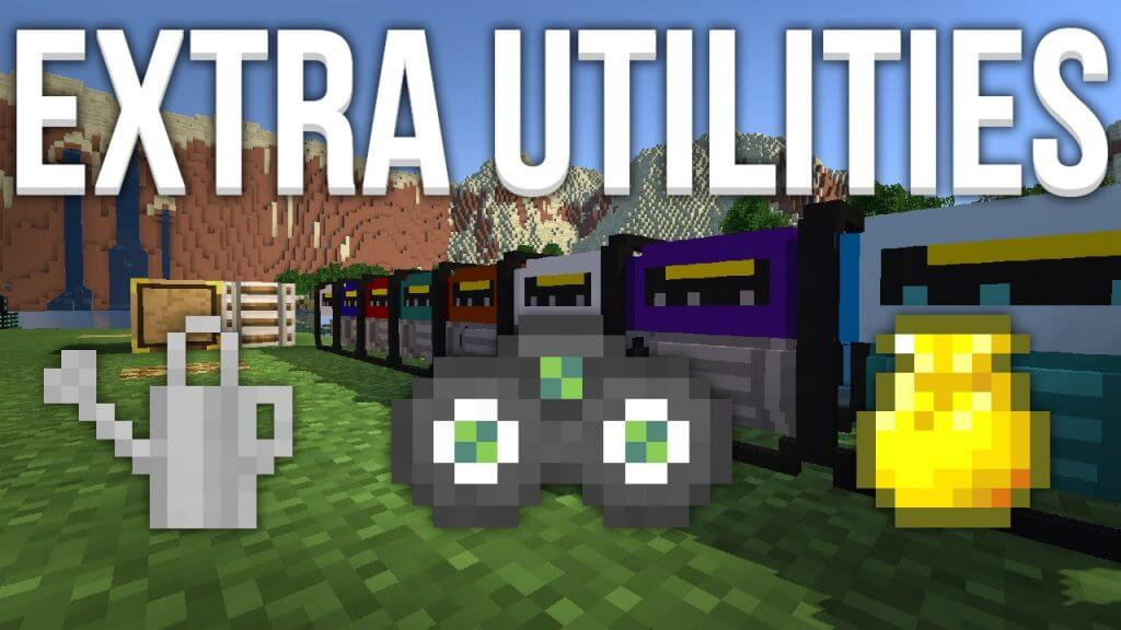 更多实用工具Extra-Utilities-Mod