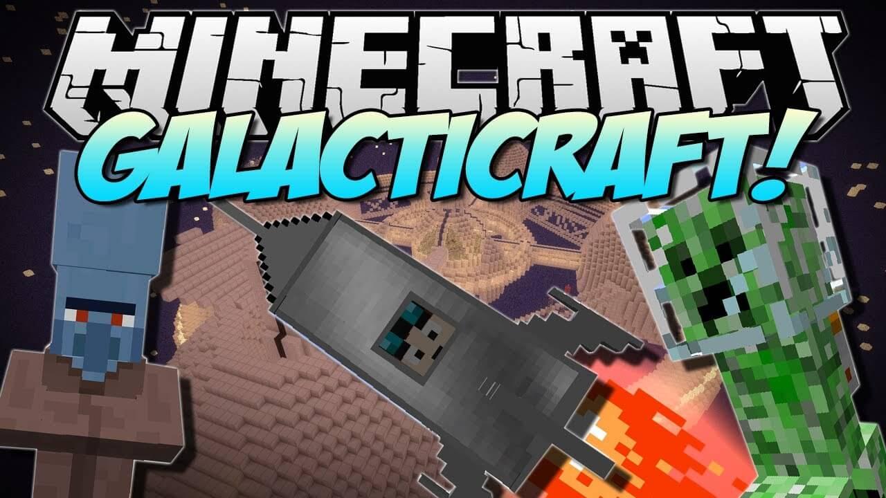 星系Galacticraft-Mod
