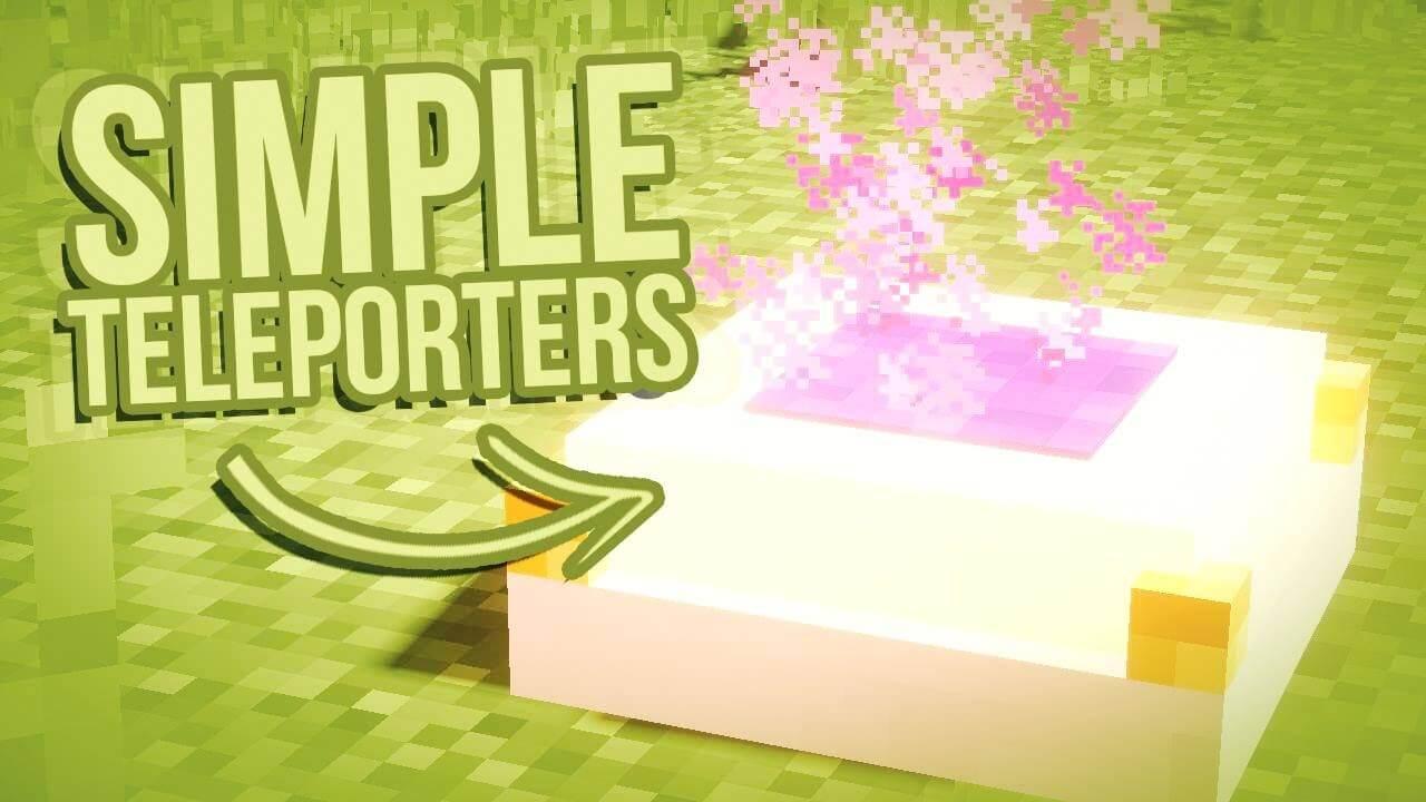 简单传送Simple-Teleporters-Mod-logo