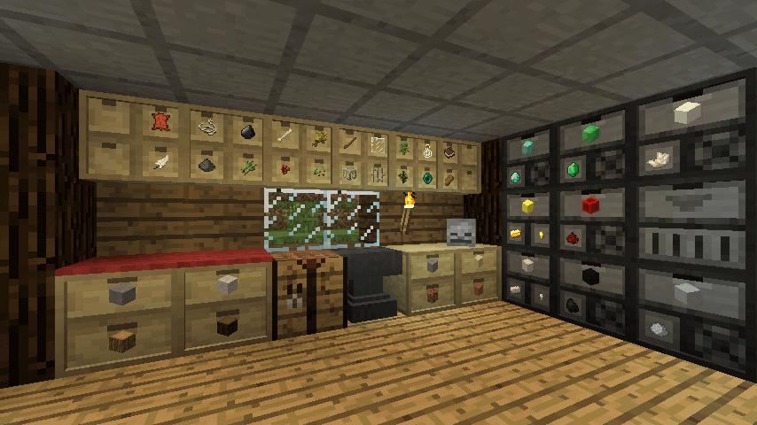 储物抽屉Storage-Drawers-Mod