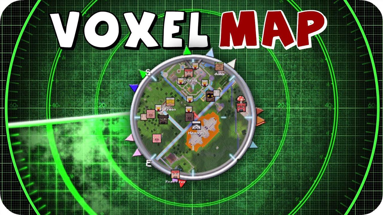 小地图VoxelMap