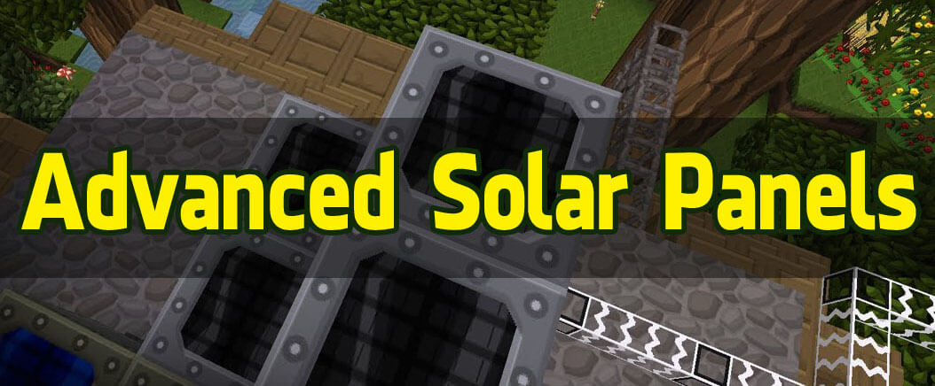 高级太阳能Advanced-Solar-Panels-Mod