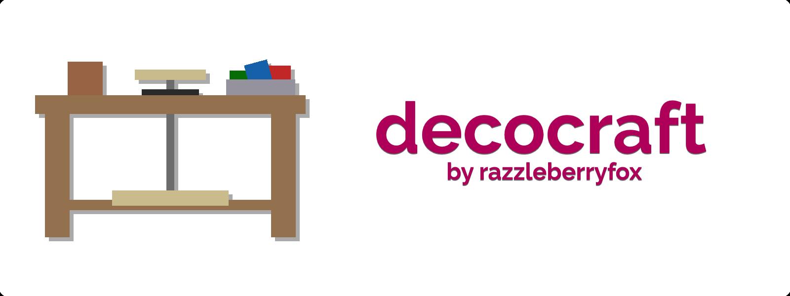 装饰品工艺Decocraft-Mod