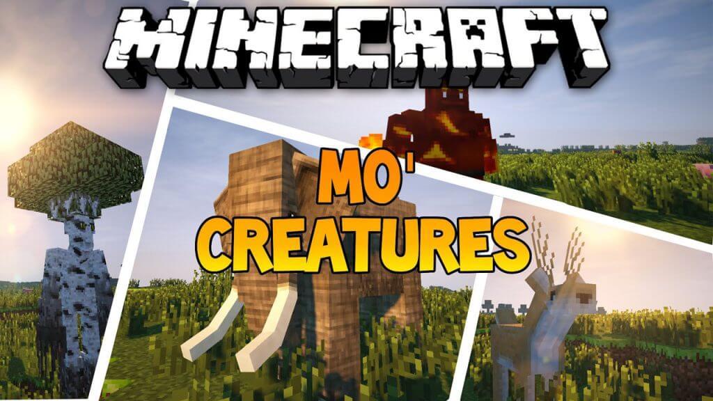 更多生物Mo'Creatures-Mod