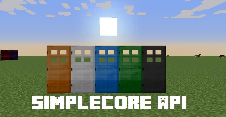 SimpleCoreAPI-Mod
