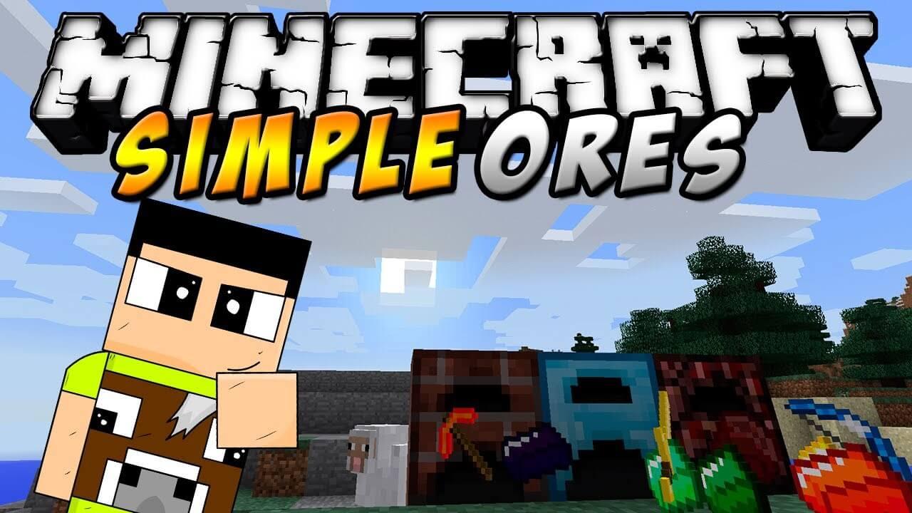 简单矿石SimpleOres-Mod