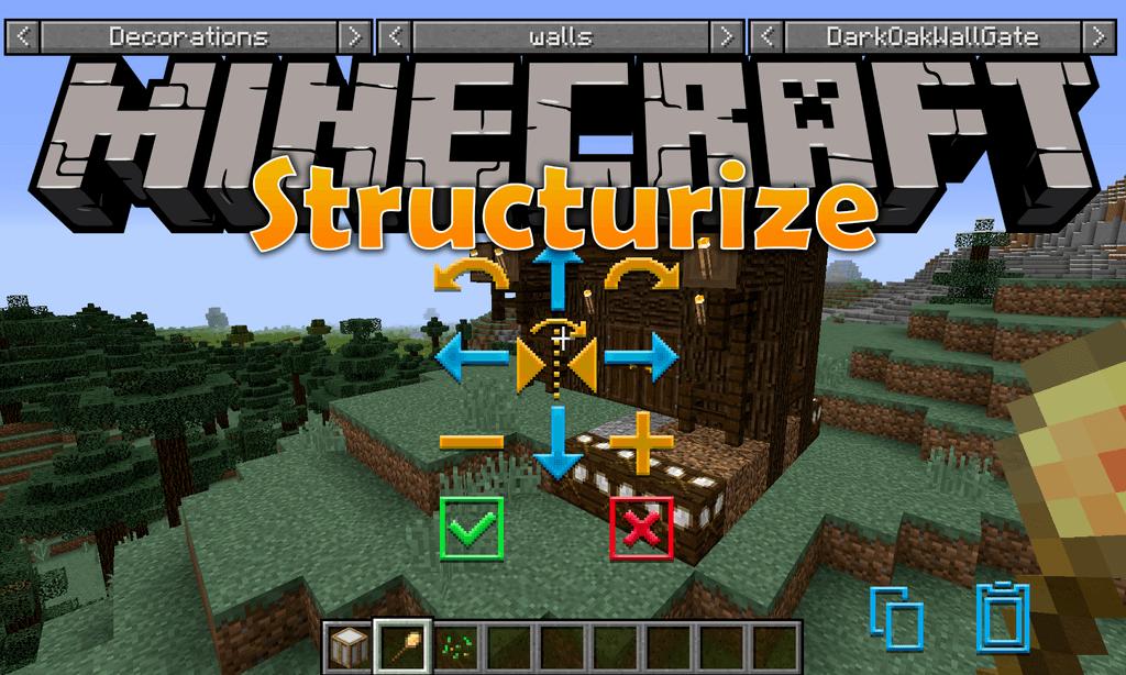 我的世界结构化(Structurize)MOD