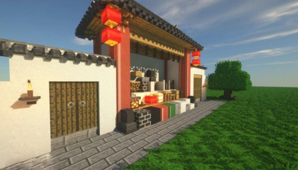 中式工坊(Chinese Workshop)MOD