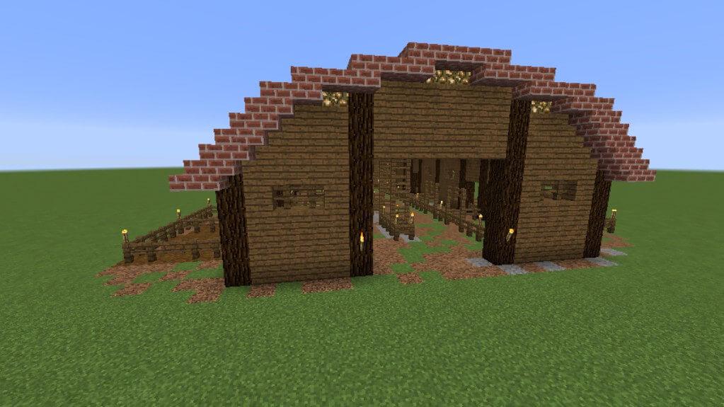 我的世界预制建筑