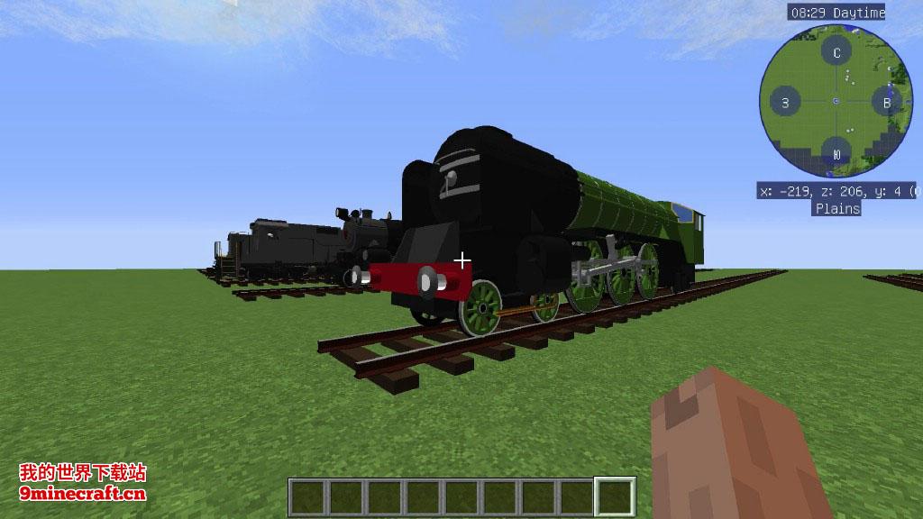 沉浸铁路(Immersive Railroading)MOD