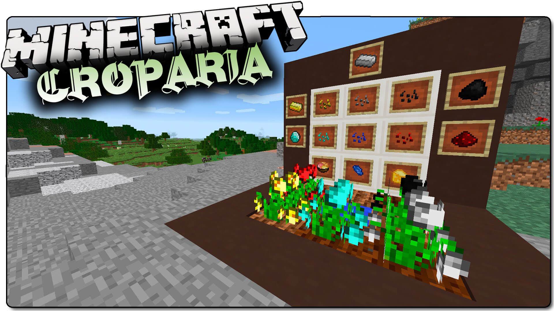 我的世界矿石作物/魔种之咏(Croparia)MOD